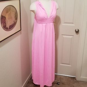 1950s ethereal cape nightgown Greek goddess